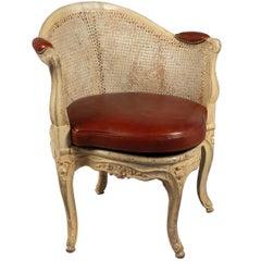 Corner Chair by Etienne Meunier 'Maitre Vers 1732' France, circa 1750