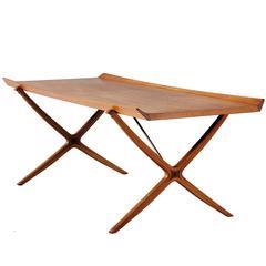 Coffee Table by Peter Hvidt & Orla Mølgaard-Nielsen in Teak