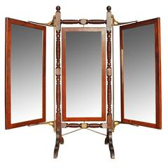 Late 19th Century Triplicate Mirror