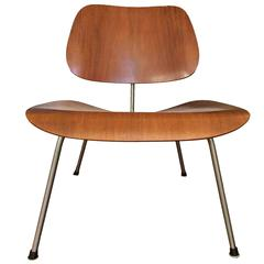 Early Rare Teak LCM by Charles Eames for Herman Miller