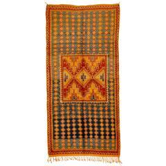 Vintage High Atlas Berber Rug