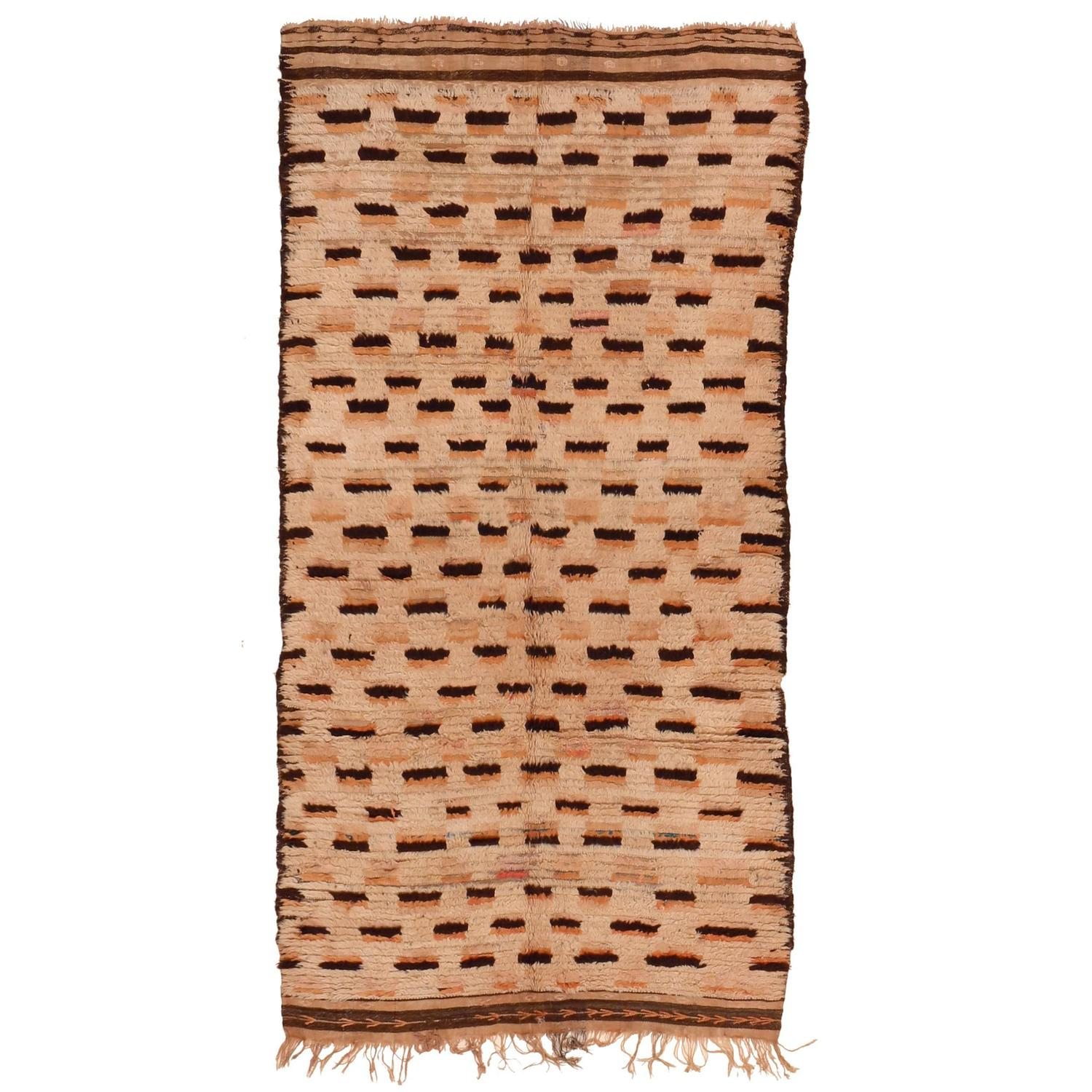 Moroccan Boucherouite Rug For Sale At 1stdibs: Vintage Azilal Berber Rug For Sale At 1stdibs