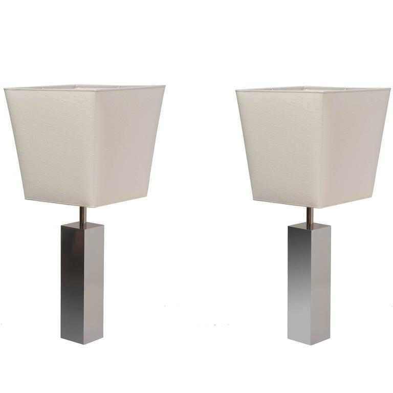 Pair of Table Lamps by Reggiani