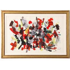 """""""Spring,"""" Oil on Paper by John von Wicht"""