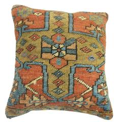 Persian Heriz Rug Pillow