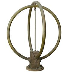 Large Bronze Marine Antenna