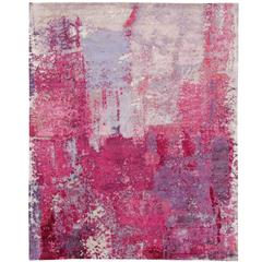 Rhapsody Silk Rug by Joanne Preston