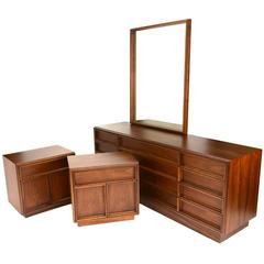 Bedroom Set by John Keal for Brown Saltman