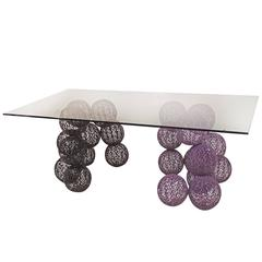 Design Dining Table by Anacleto Spazzapan, Italy, Late 20th Century