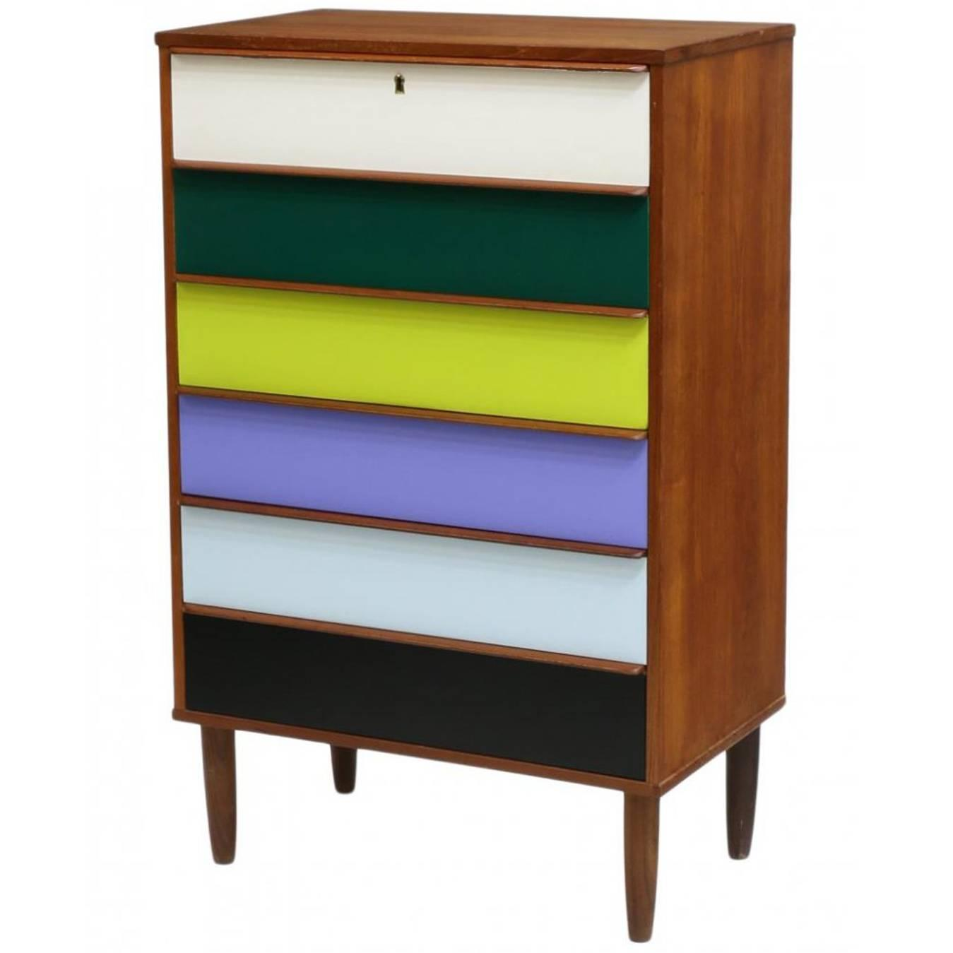 Danish mid century modern chest of drawers at stdibs
