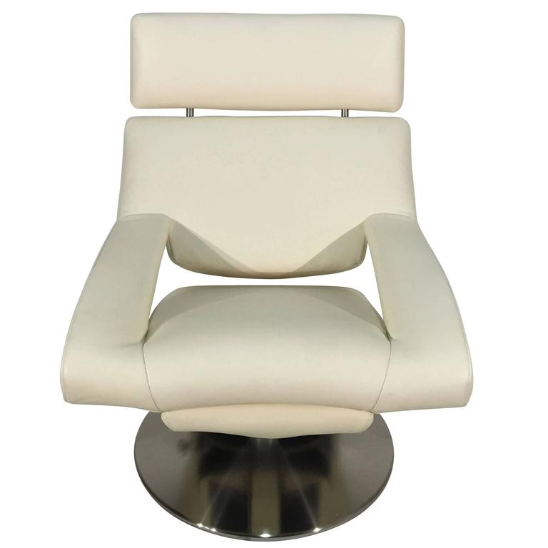 De Sede DS-255/11 Armchair in Leather Select Off-White