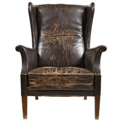 Decorative Wingback Chair