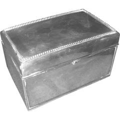 Black, Starr and Frost Sterling Silver Cigarette Box