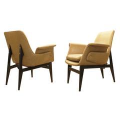 Diminutive 1960s Italian Lounge Chairs