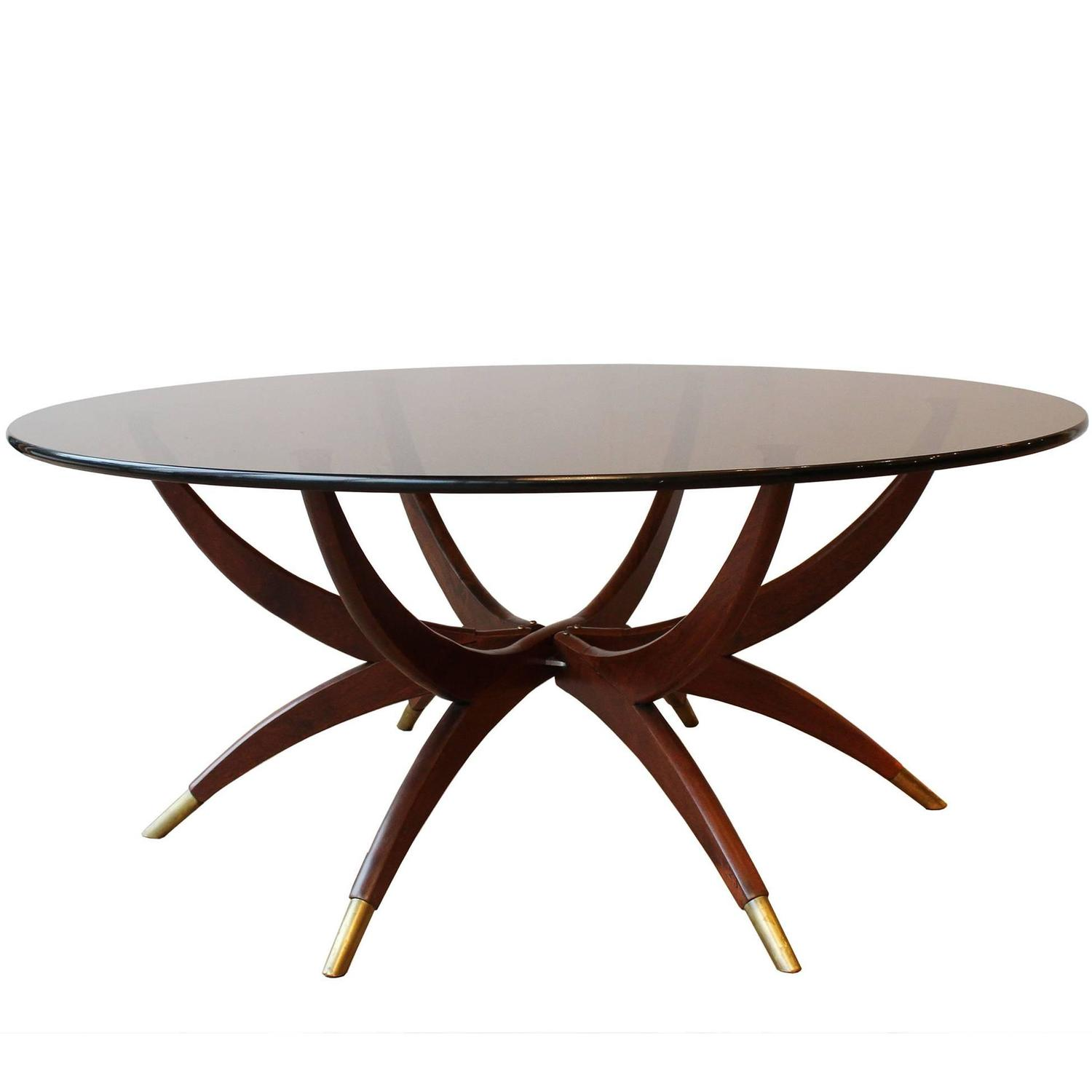 Italian Spider Coffee Table At 1stdibs
