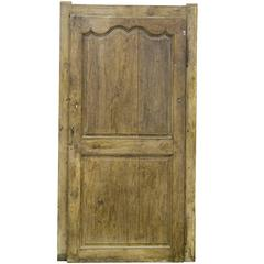 Late 18th Century Interior Solid French Oak Door