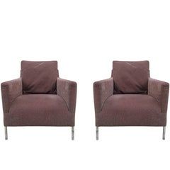 "Pair of B&B Italia ""Solo"" Chairs by Antonio Citterio"