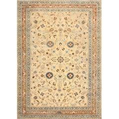Large Antique Persian Khorassan Carpet