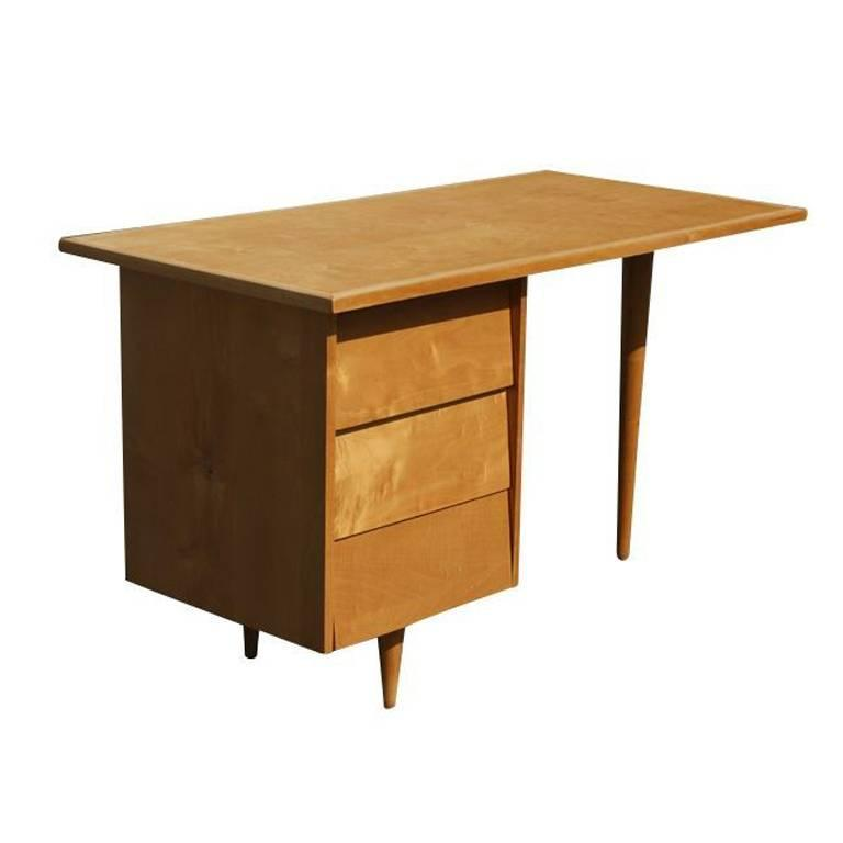 Early Florence Knoll Desk at 1stdibs