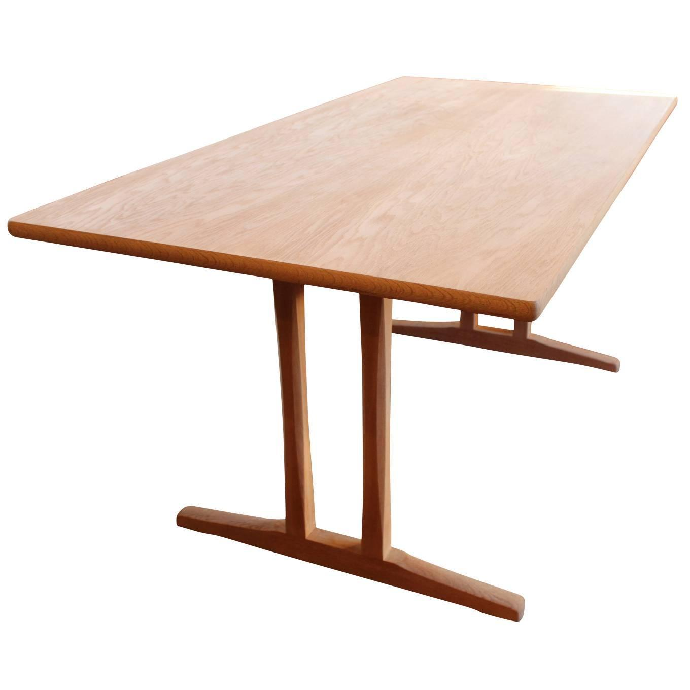 Shaker Dining Table, C18, Designed By Børge Mogensen And F.D.B. Furniture,  1957 For Sale At 1stdibs