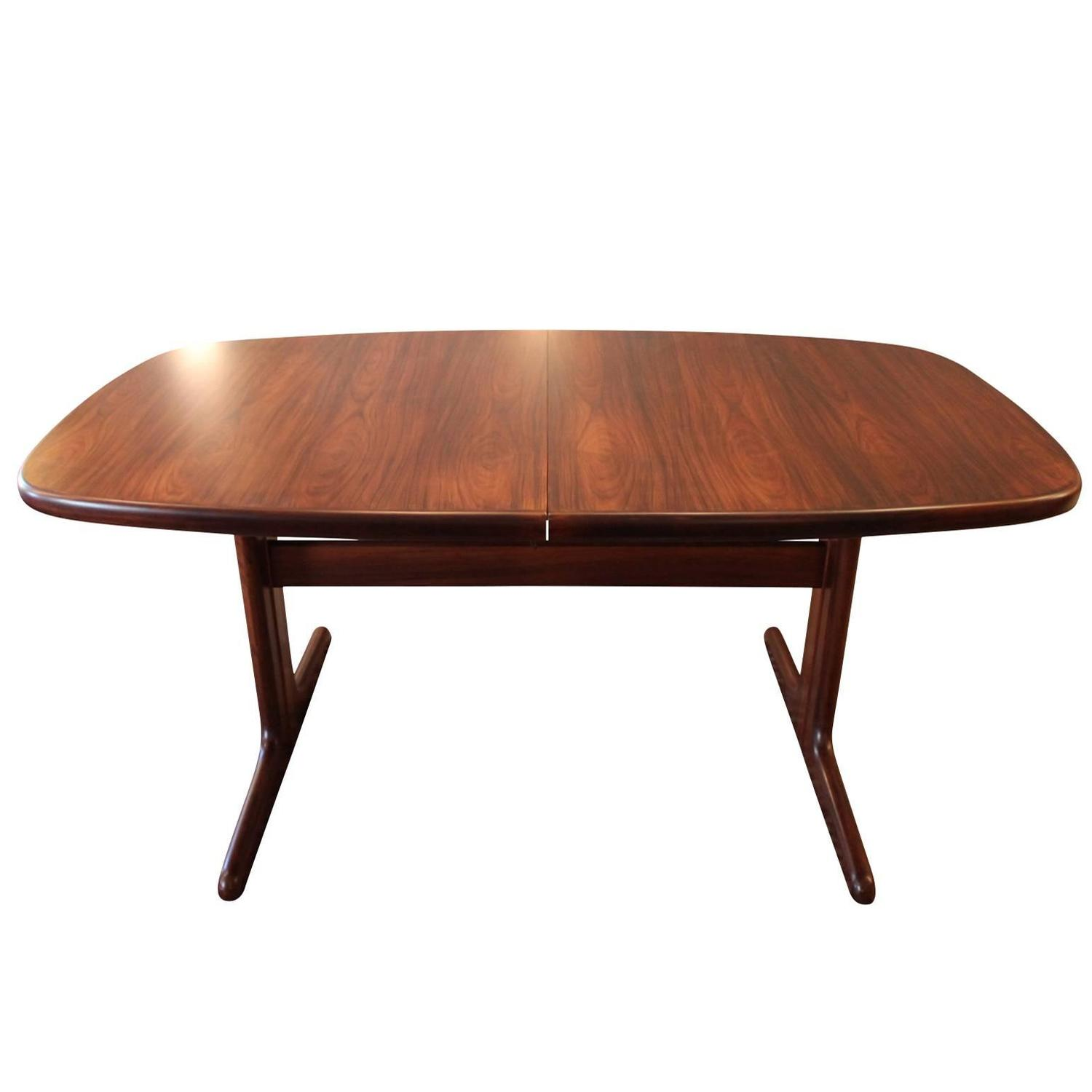 Dining Table In Rosewood By Skovby Furniture Factory Circa 1960 At 1stdibs