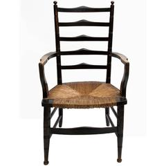 19th Century Liberty Ladder-Back Armchair