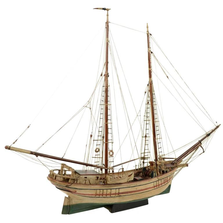 Scale Model of a Turkish Ship
