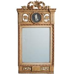 Swedish Gustavian Period Signed Stockholm Mirror, circa 1780