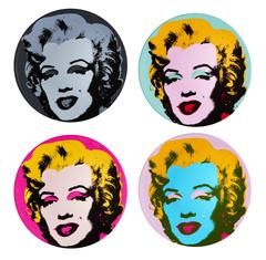 Salad or Dessert Plates, after Andy Warhol