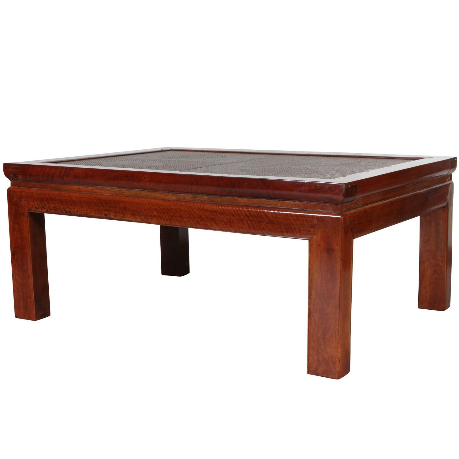 Craftsman Made Asian Coffee Table For Sale At 1stdibs