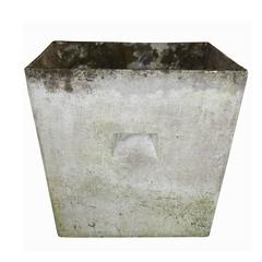 Vintage Square Cement Planter