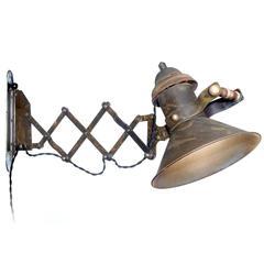 Industrial Articulated Scissor Lamp