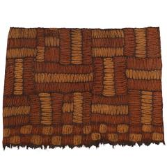 Early 20th Century Tribal Dida Man's Mantle or Wrapper, Ivory Coast, Africa