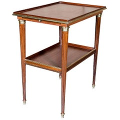 Louis XVI Mahogany Side Table