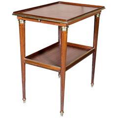 Louis XVI Mahogany Side Table