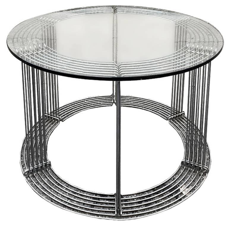dining table and six chairs designer verner panton 1971. Black Bedroom Furniture Sets. Home Design Ideas