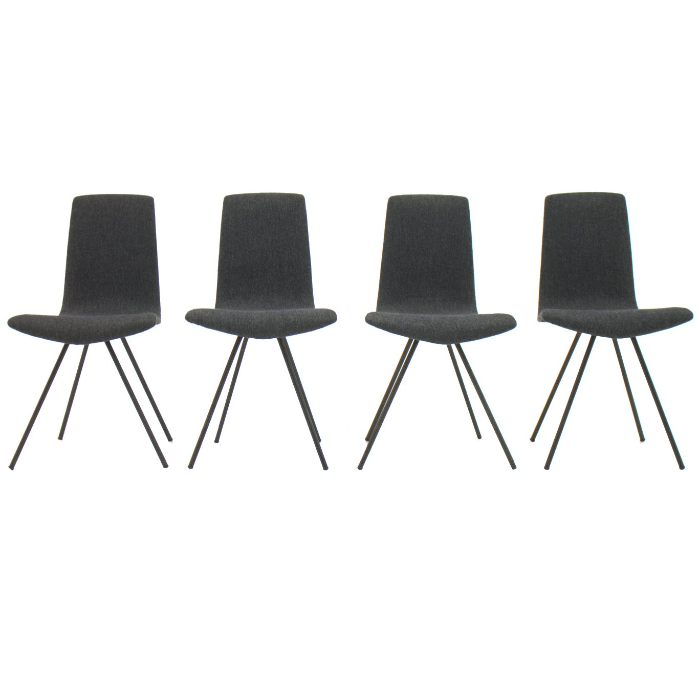 Set of Four Dining Room Chairs by Hans Bellmann, Switzerland, 1952