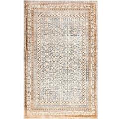 Decorative Antique East Turkestan Khotan Rug