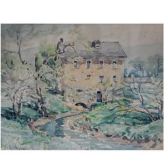 Gordon Eastcott Payne Watercolour Painting