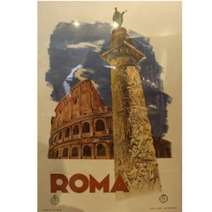 "Italian Travel Poster ""Roma"""