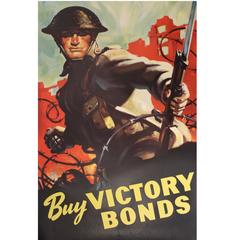 Canadian Wartime Poster, World War Two
