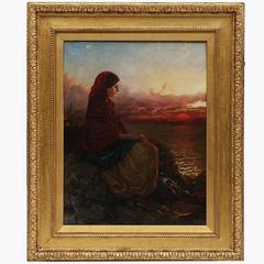 Mid-19th Century Painting by Edward John Cobbett