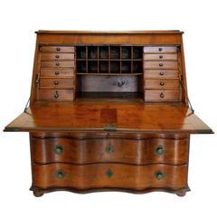 19th Century Swiss Drop-Leaf Secretary Desk and Chest