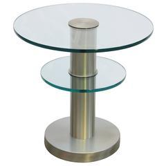 Fontana Arte Modernist Side Table