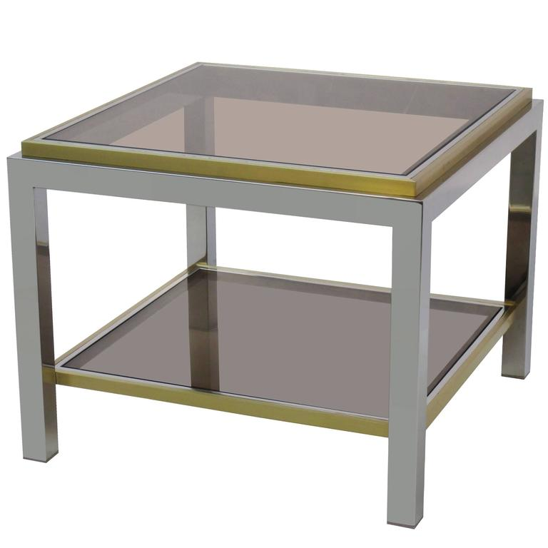 Modernist Side Table by Jean Charles