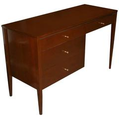 Paul McCobb Four-Drawer Walnut Planner Group Desk
