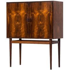 Helge Vestergaard-Jensen bar cabinet model 63 by Jason møbler in Denmark