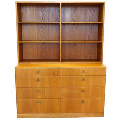 Midcentury Borge Mogensen Bookcase and Chest of Drawers