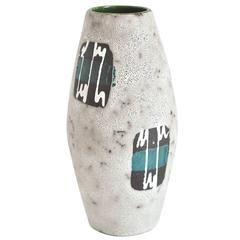 1970s West German Ceramic Vase by Scheurich Keramik Co.