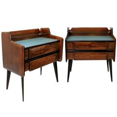 Pair of Italian Midcentury Night Stands